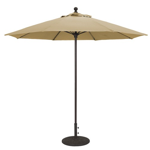 9 Foot Fiberglass Rib Commercial Quality Umbrella