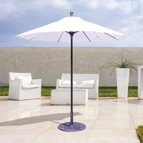 7 1/2' Fiberglass Rib Commercial Patio Umbrella