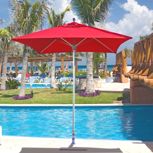6' X 6' Square Patio Umbrella