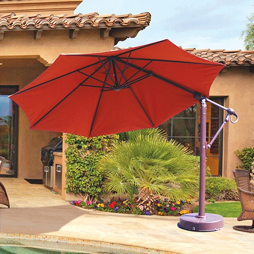 11' Offset Cantilever Umbrella