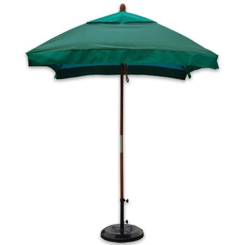 6 foot wind resistant fiberglass rib umbrellas