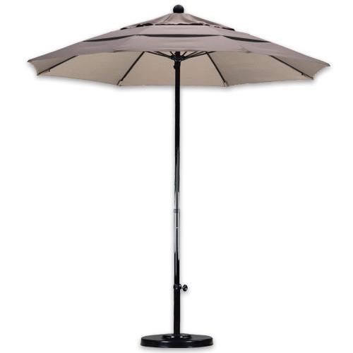 7 foot wind resistant patio umbrellas