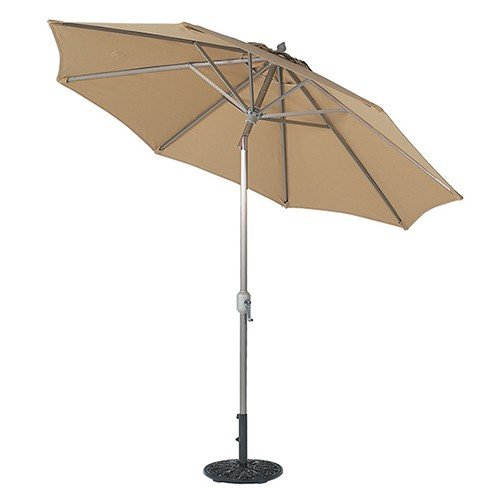 9 foot aluminum patio umbrellas